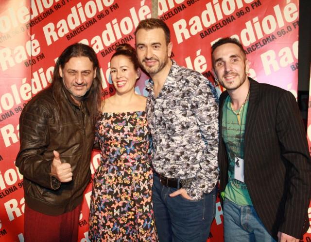 Dioni, Marta, Joaquín y Maki